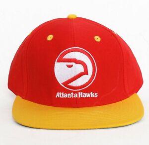 Atlanta Hawks Snapback Hat Cap NBA Adidas Baseball dad NEW