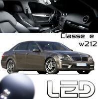 MERCEDES Classe E W212 18 Ampoules LED Blanc plafonnier Habitacle coffre Porte