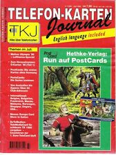TK Telefonkarten Zeitung TKJ Telefonkarten Journal 1996 Nr. 7