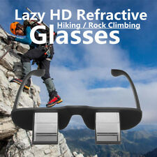 Lazy Refractive Belay Glasses Climbing Goggles Prism Spectacles Reading Watch TV