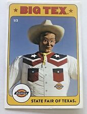 State Fair of Texas 2019 Dickies Big Tex Trading Card #1 of 3 - Howdy Folks !