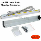 2/3/Axis Digital Readout LCD TTL 1um Linear Glass Scale DRO Display CNC Milling