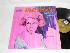 JANE MORGAN The Last Time I Saw Paris '64 COLPIX ORIG FEMALE JAZZ LP NICE