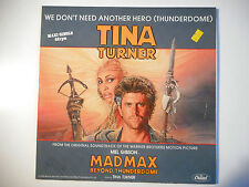 "MAXI 12"" POP 80s  ▒ TINA TURNER : WE DON'T NEED ANOTHER HERO ( THUNDERDOME )"