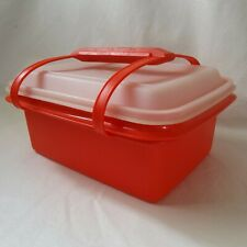 Vintage Tupperware Pack N Carry Lunch Container With Handle