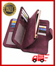Women Clutch Leather Purse Long Wallet PRETTY Trifold Money Bag For Female Lady