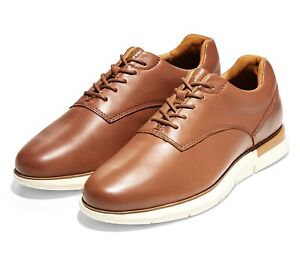 Mens Cole Haan Owen Oxford - British Tan/Ivory Leather, Size 8.5 M [C33061]