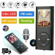 Portable MP3 MP4 Player HiFi Bass Musik Spieler 1,8'' TFT LCD Display FM Radio