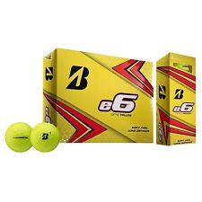 Bridgestone 2019 e6 Yellow Golf Ball - Dozen E9YX6D