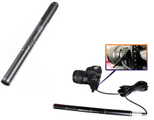 Shotgun Interview Condenser Microphone Mic For Camera Nikon Canon Camcorder