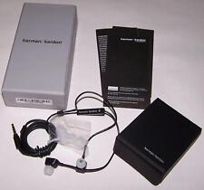 Harman Kardon NI Precision In-Ear Headphones Earphones +Mic Apple In-Line Remote