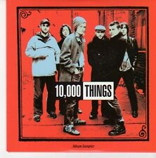 (EB350) 10,00 Things, 5 track Album Sampler - 2004 DJ CD