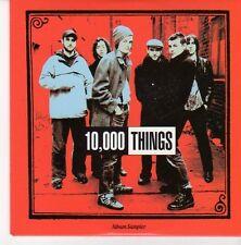 (EB350) 10,00 Things, 5 track Album Sampler - 2004 DJ CD
