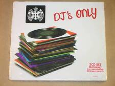 RARE BOITIER 3 CD / DJ'S ONLY / MINISTRY OF SOUND / NEUF SOUS CELLO