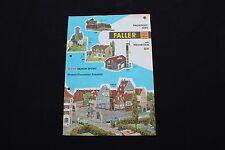 P246 Catalogue Train maquette Ho FALLER 1965 4 pages AUTO moto sport 4000 4007