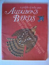Lot of 12 Audubon's Birds Prints