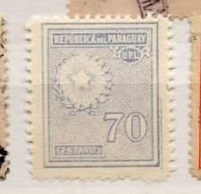 Paraguay 1927-42 Early Issue Fine Mint Hinged 70c. 282562