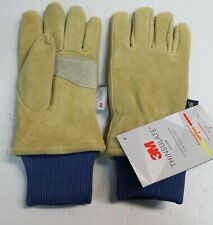 Large Wells Lamont Men/'s Suede Leather Winter Heavy Duty Work Mitten with Cuff