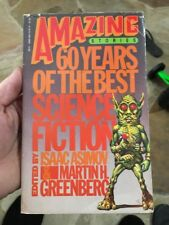 Amazing Stories 60 Years Of The Best Science Fiction By Isaac Asimov Rare Sci Fi