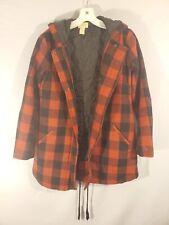Levis Sherpa lined Trucker Jacket Plaid Wool Flannel Unisex Winter XS