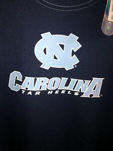 Vintage T Shirt - North Carolina Tar Heels Work Out E5 Brand Size L Blue College