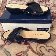 Black Sandal Size 8 1/2