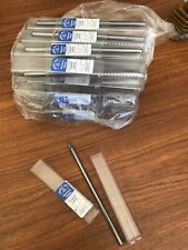 """Ground From Solid Pc of Steel 5 pcs Oval Shape Grobet 1//4/"""" Shank Rotary File"""