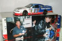 1998 Darrell Waltrip #17 Western Auto Parts America DUAL AUTOGRAPHED W/PHOTO