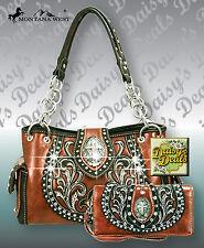 Montana West Embroidery Cutout Design Spiritual Collection Handbag Set
