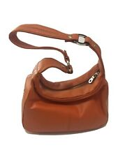 NWOT Wilson's Leather Orange Leather Mini Hobo Bag