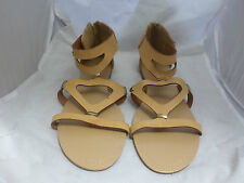 London Rebel Tan Sandals UK6 EU39 JS11 64