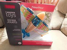 Fisher-Price Rhythym & Roll Percussion Plane - Brand NEW