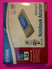 D-Link Wireless G Notebook Adapter - DWL-G630. Broken Seal... Very Good