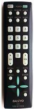 SANYO GXBJ TV Remote Control - DP26648 DP37649 DP42848 DP46848 DP50719 DP52848