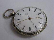 Montre à seconde indépendante morte 1830 Jumping dead beat second antique watch