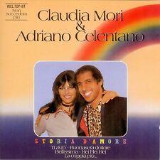 CD ADRIANO CELENTANO e CLAUDIA MORI storia d'amore