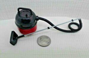 Dollhouse Miniature Fairy Garden Garage Red Shop Vac Cleaner 1:12 Scale.