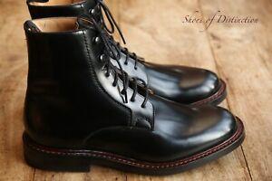 Men's Church's Wootton Black Leather Boots Shoes UK 8.5 US 9.5 EU 42.5
