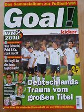 Ferrero GOAL! WM 2010 Album - kicker - duplo hanuta - KOMPLETT - DFB (1)