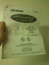 Hydro Thunder arcade operations manual