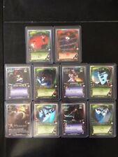 Yu Yu Hakusho CCG Foil Promo Set #L1-10; 10 Card Lot; Rare; Ghost Files; TCG