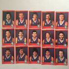 Footscray Bulldogs VFL 1982 Scanlens 15 Cards Set AFL Ted Whitten Doug Hawkins