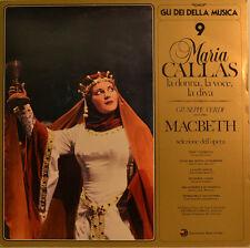 """MARIA CALLAS - LA DONNA, LA VOCE, LA DIVA - MACBETH 12"""" (W53)"""