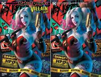 HARLEY QUINN VILLAIN OF THE YEAR #1 LOUW trade dress and virgin variants