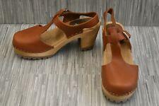 **Mia Madeline SW305-112 Swedish Clogs, Women's Size 8 / EU 38, Tan