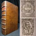 1612 FOLIO Deipnosophistae ROMAN DINING Cookbook MUSIC Banquets RARE Greek/Latin