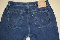 Levi's 515 Lower Rise Boot Cut Jeans Women's Size 14 Vintage Dark Wash Denim USA