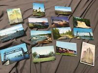 Lot of 14 Vintage Duluth MN Lake Superior North Shore Postcards Unused Great Co