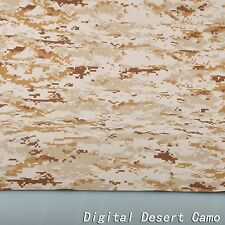 "2-Yards Digital Desert Camouflage Cotton Blend 60""W Fabric Cloth for BDU uniform"