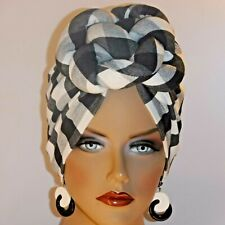 "ChemoTurban Hijab Tichel Scarf-look Dark Green Camo /""Something4you/"" Alopecia"